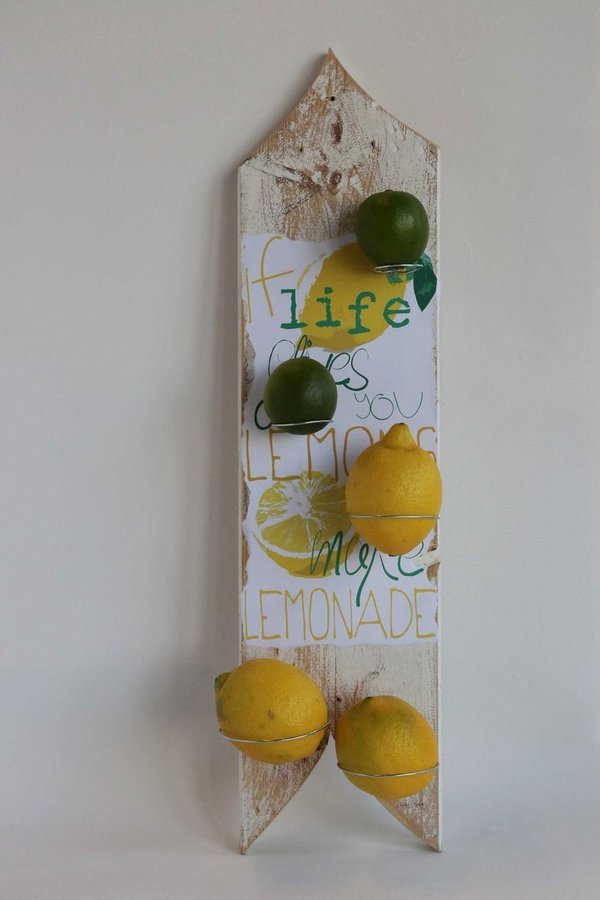 "Wandhalter ""If life gives you lemons I"""