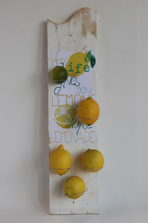 "Wandhalter ""If life gives you lemons II"""
