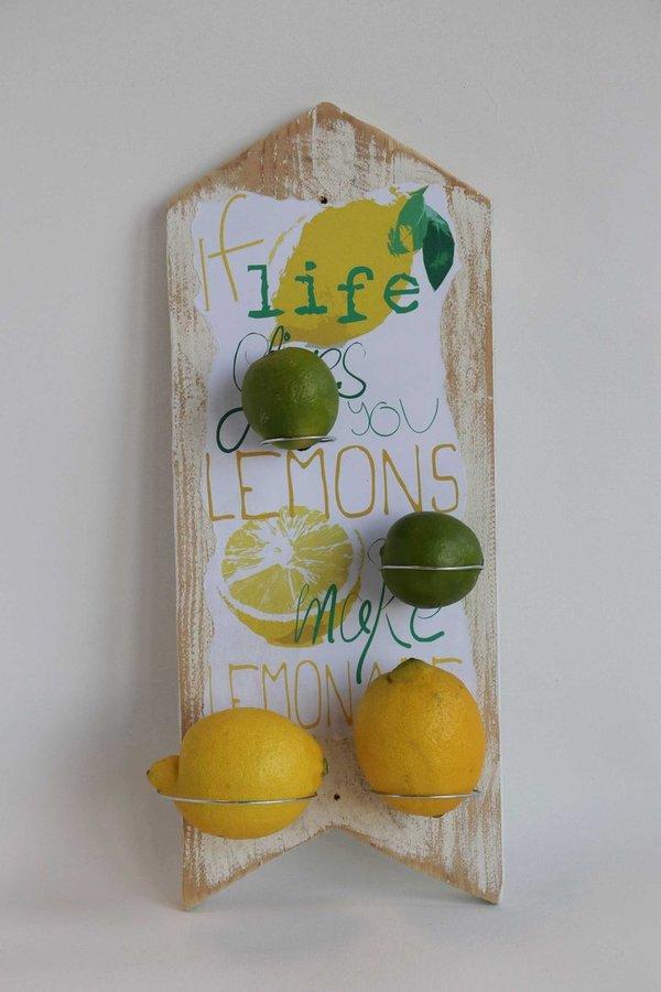 "Wandhalter ""If life gives you lemons III"""